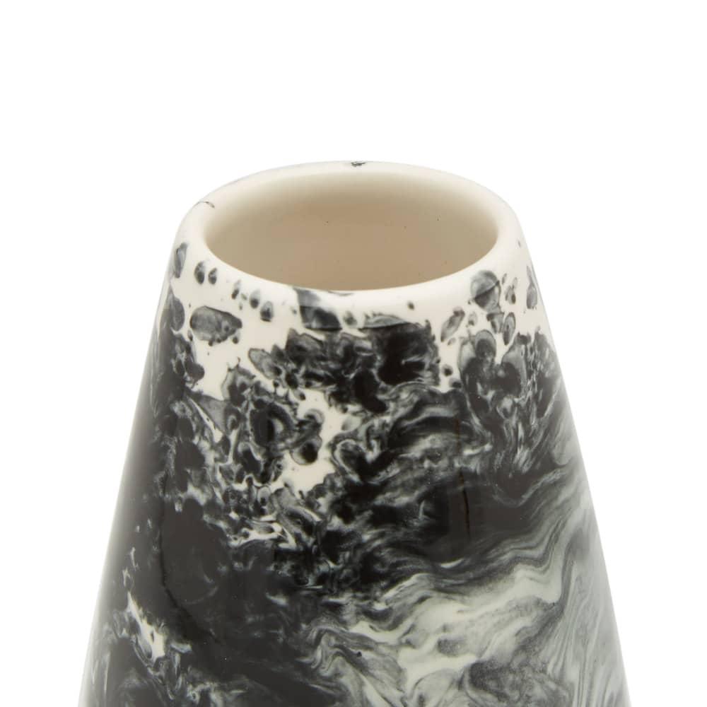 1882 x Queensbury Hunt Slick Additions Small Vase - Black & White