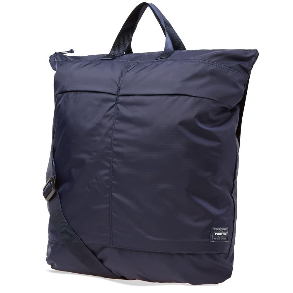 Porter-Yoshida & Co. Flex 2Way Duffel Bag - Navy
