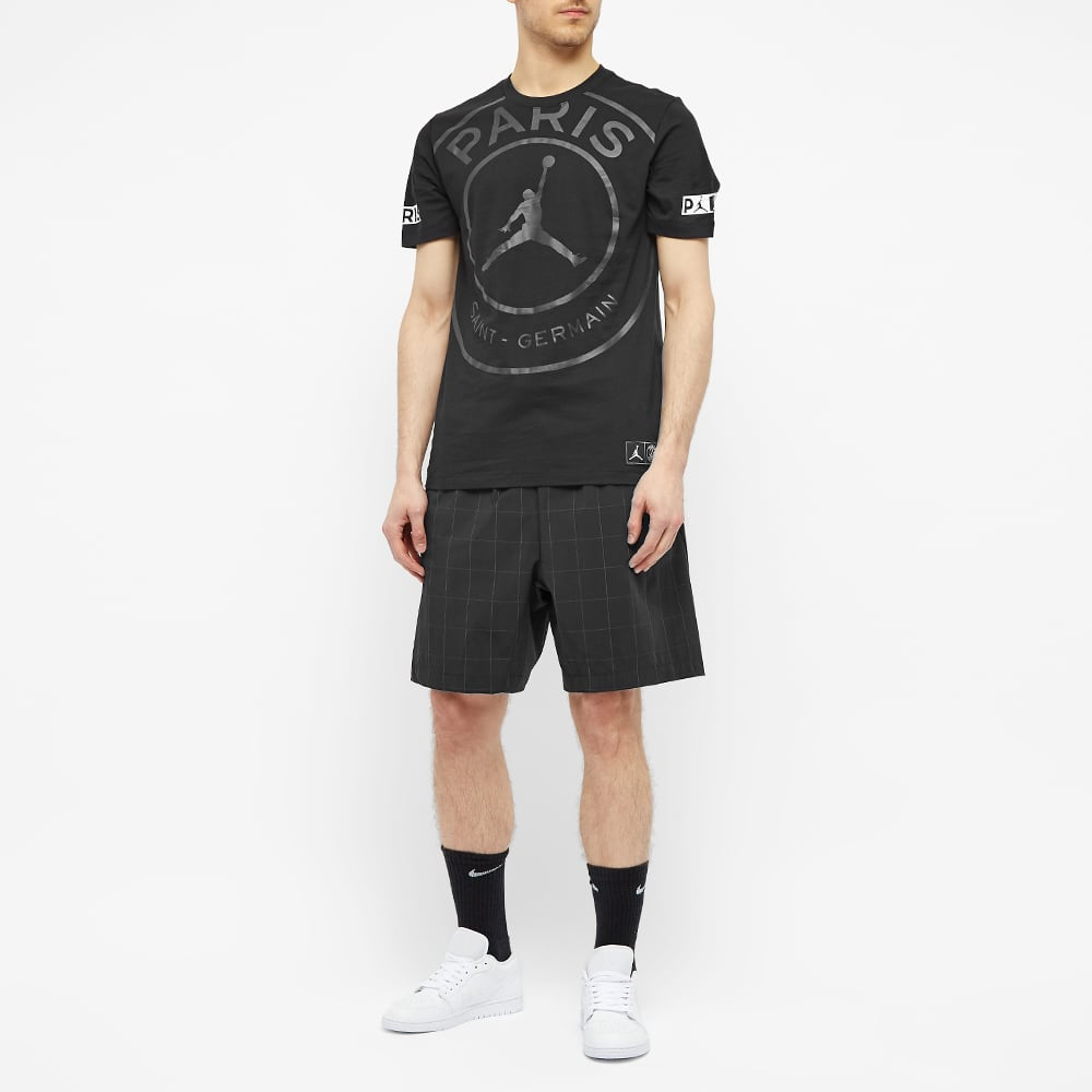 Air Jordan x PSG Logo Tee - Black