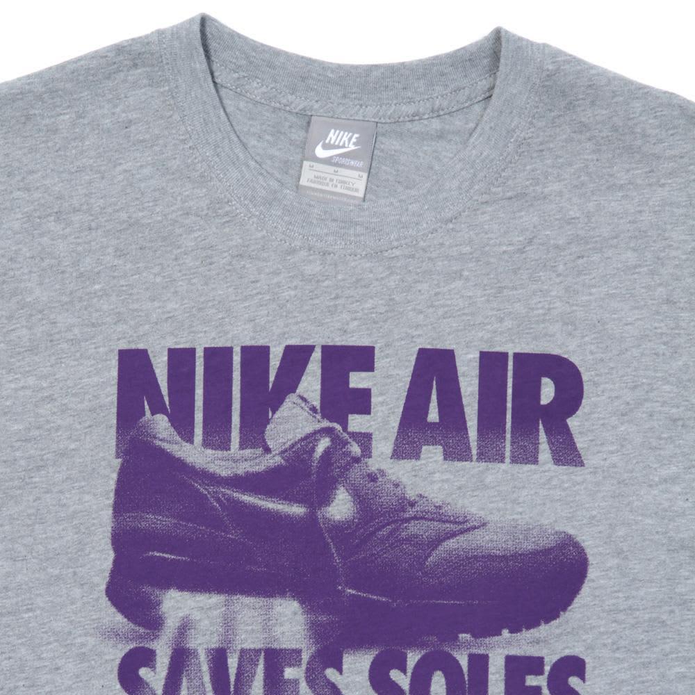 Nike Air Saves Soles Tee - Dark Grey Heather