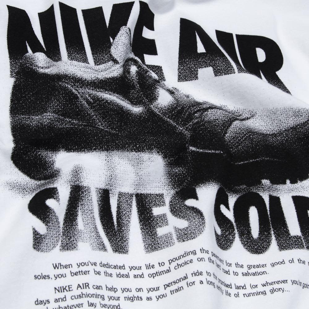 Nike Air Saves Soles Tee - White