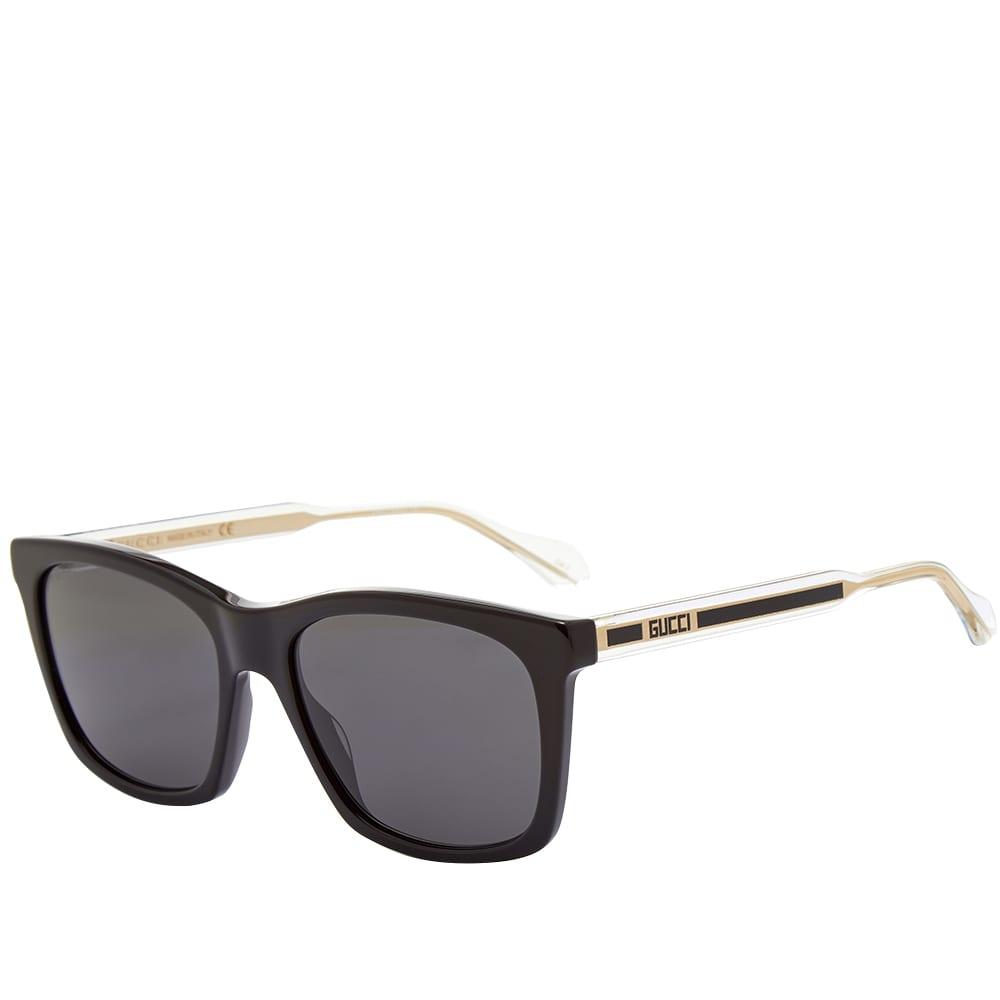 Gucci Anima Decor Sunglasses - Black & Crystal