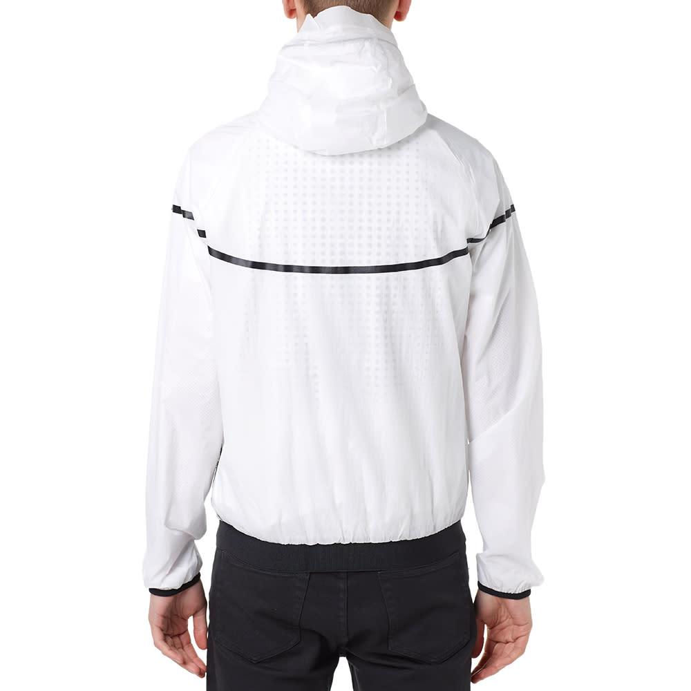Nike Tech Aeroshield Windrunner - White & Black