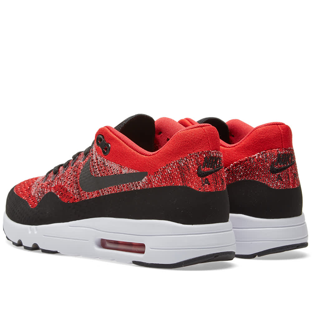 Nike Air Max 1 Ultra 2.0 Flyknit University Red Black