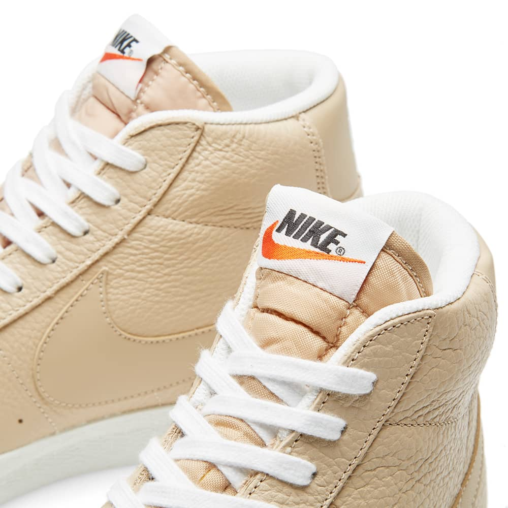Nike Blazer Mid Premium - Linen & Summit White