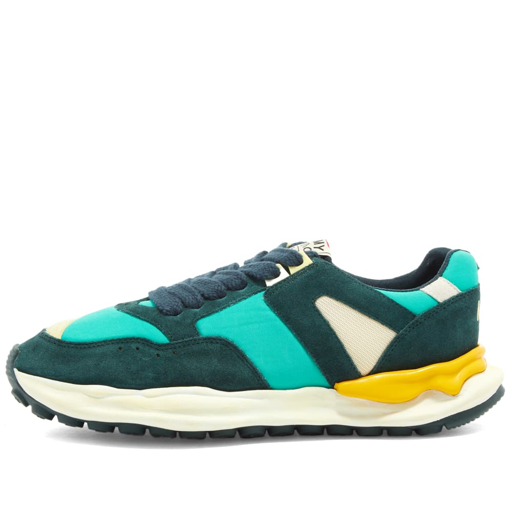 Nigel Cabourn X Mihara Runner - Army & Green Mix