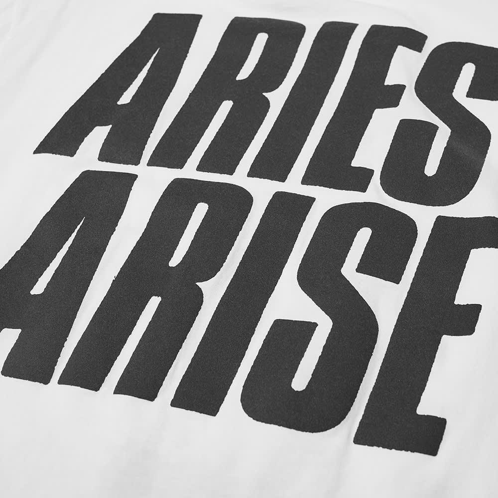 Aries Plastic Bag Tee - White