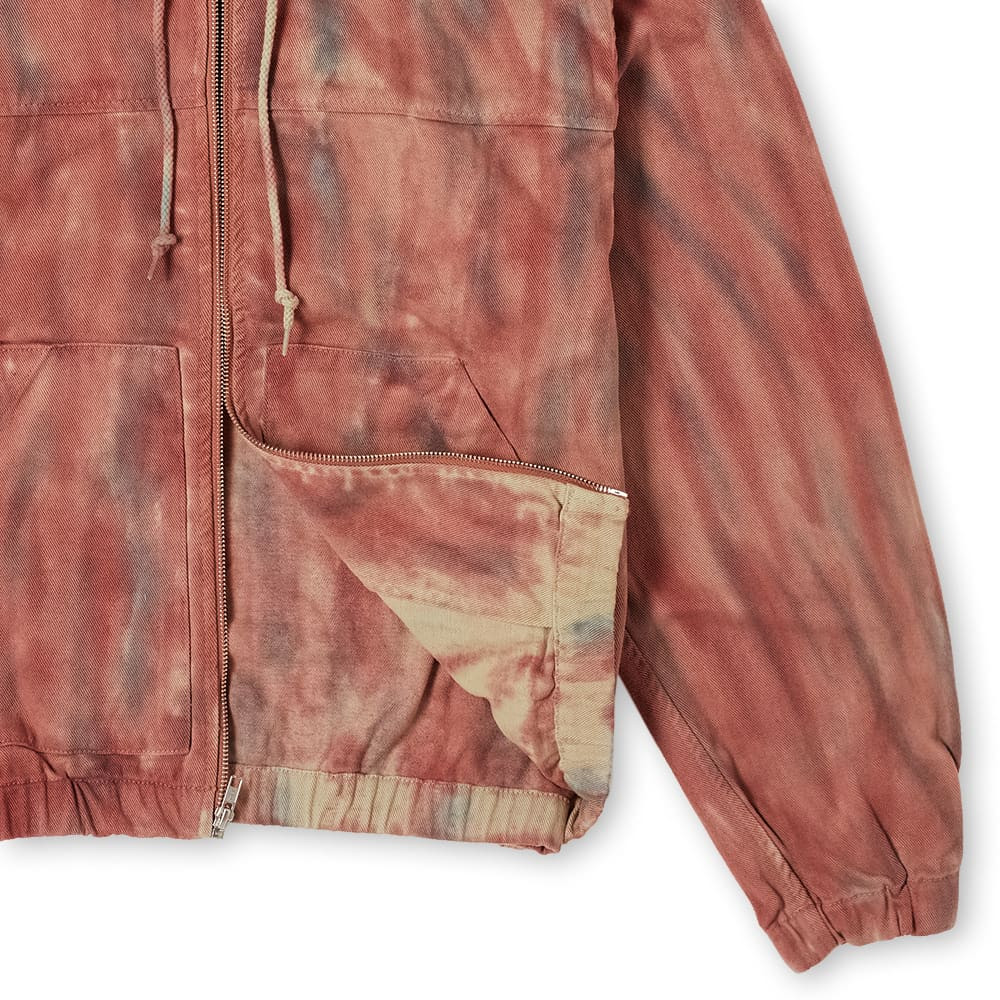 Stussy Dyed Work Jacket - Rust