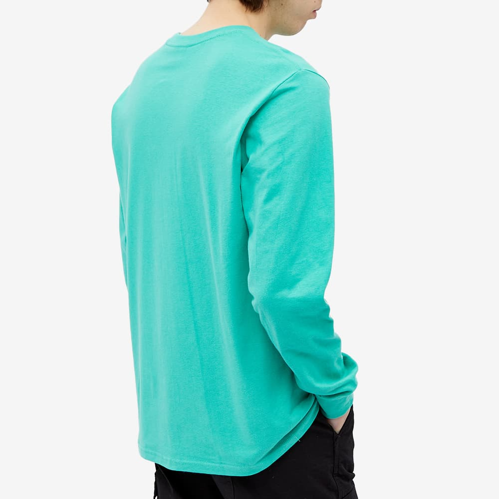 Stussy Long Sleeve Fresh Gear Tee - Green