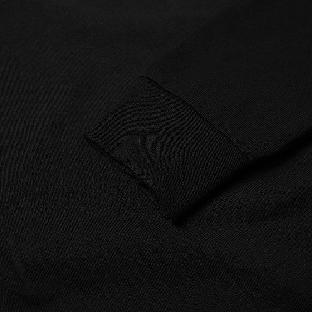Stussy Long Sleeve Basic Stussy Tee - Black