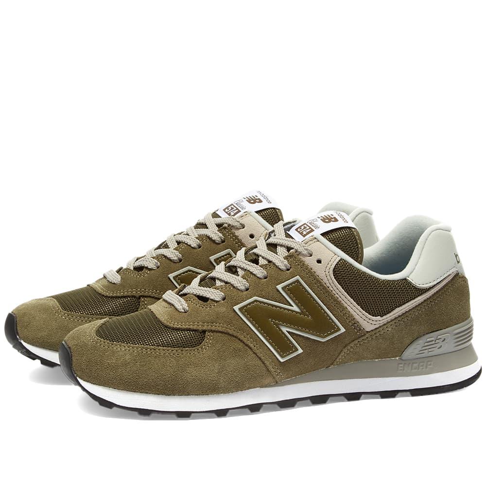 New Balance ML574EGO - Olive