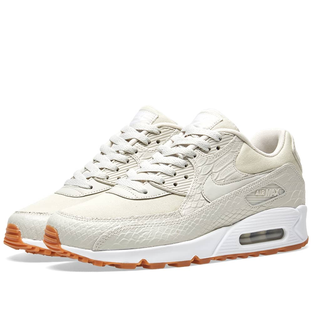 nike air max 90 premium light bone