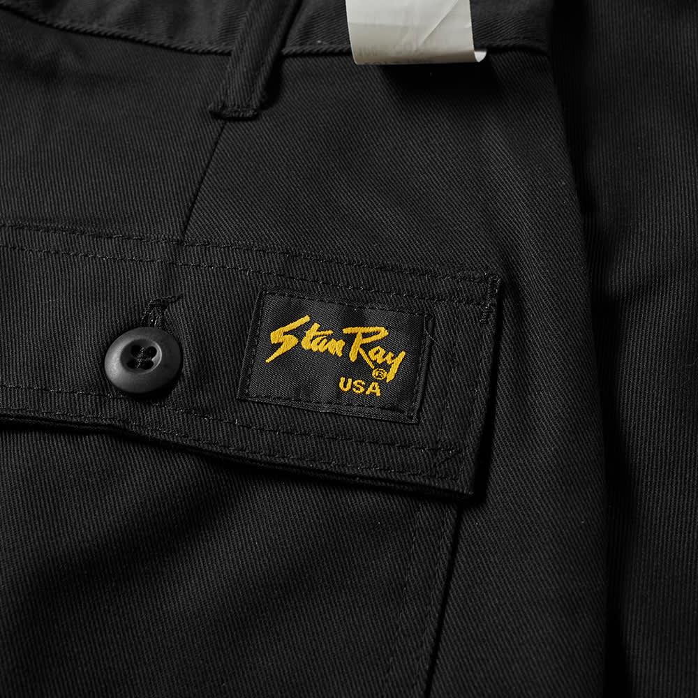 Stan Ray Taper Fit 4 Pocket Fatigue Pant - Black Twill