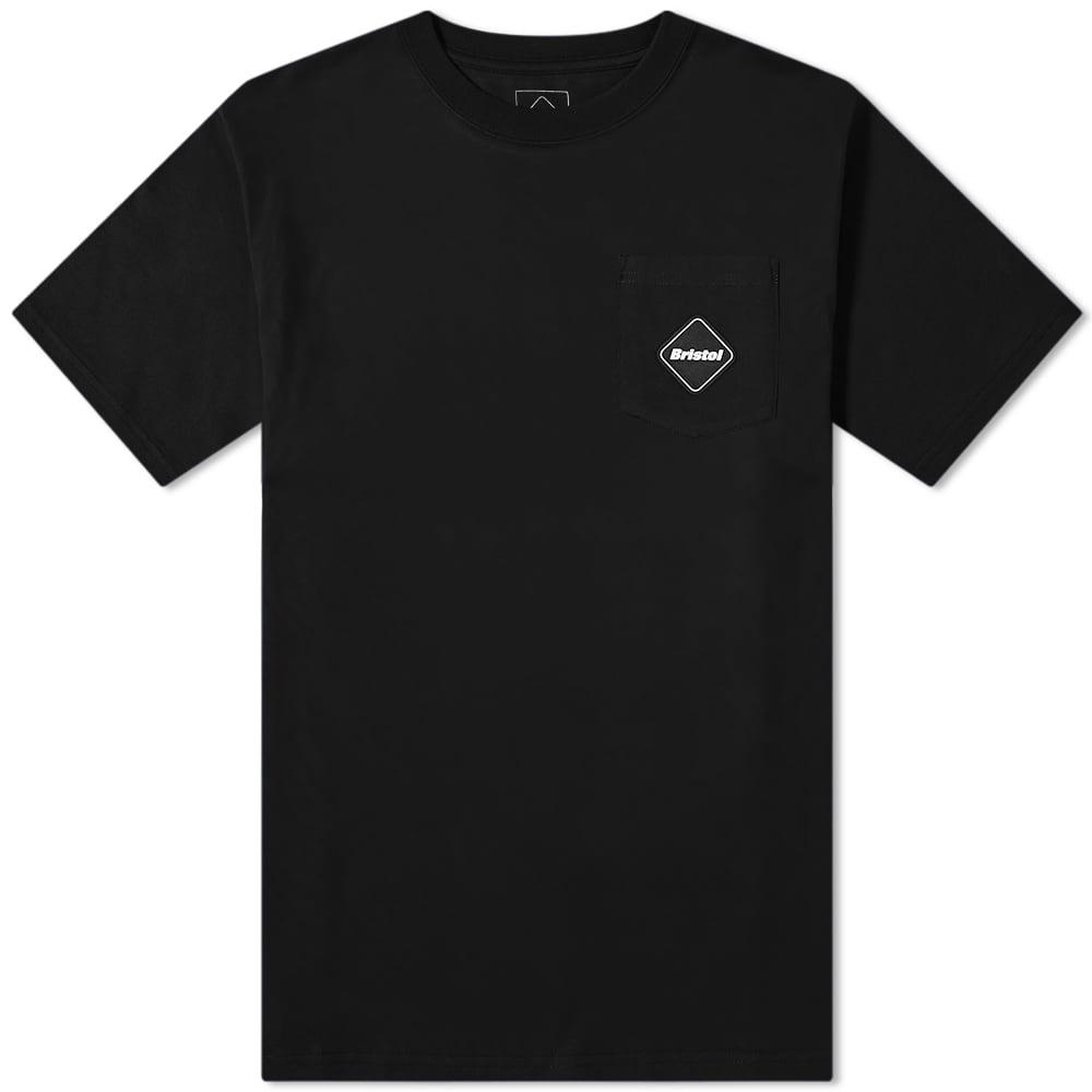 F.C. Real Bristol Bandana Big Logo Tee - Black