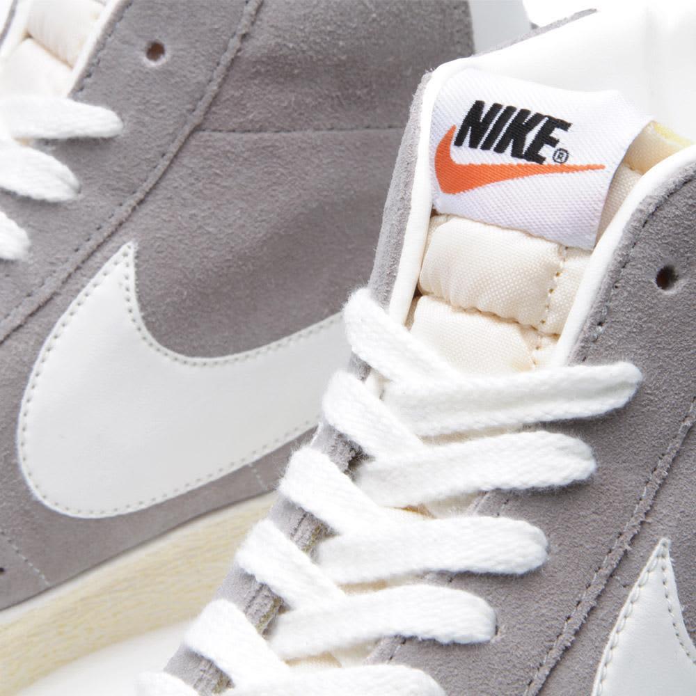 Nike Blazer Mid PRM - Medium Grey & Sail
