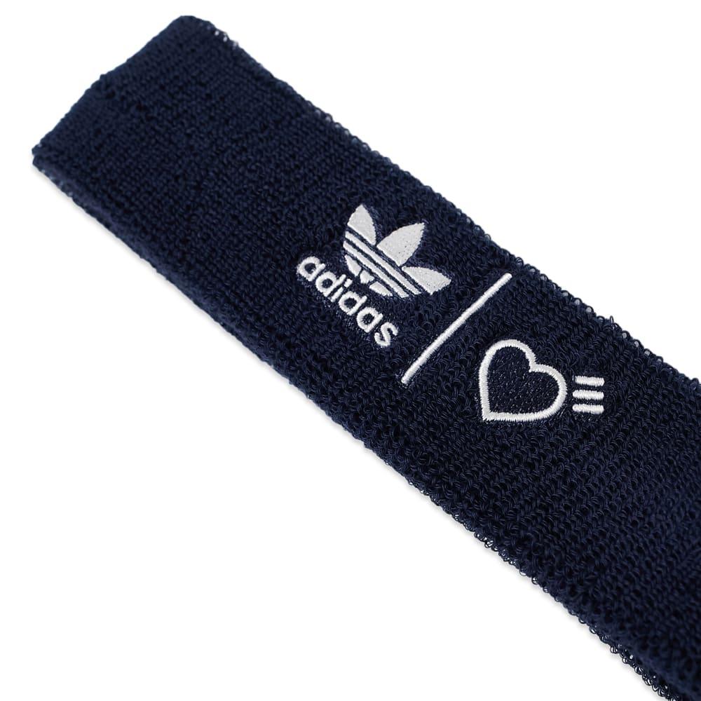 Adidas x Human Made Wristbands & Headband - Collegiate Navy & White