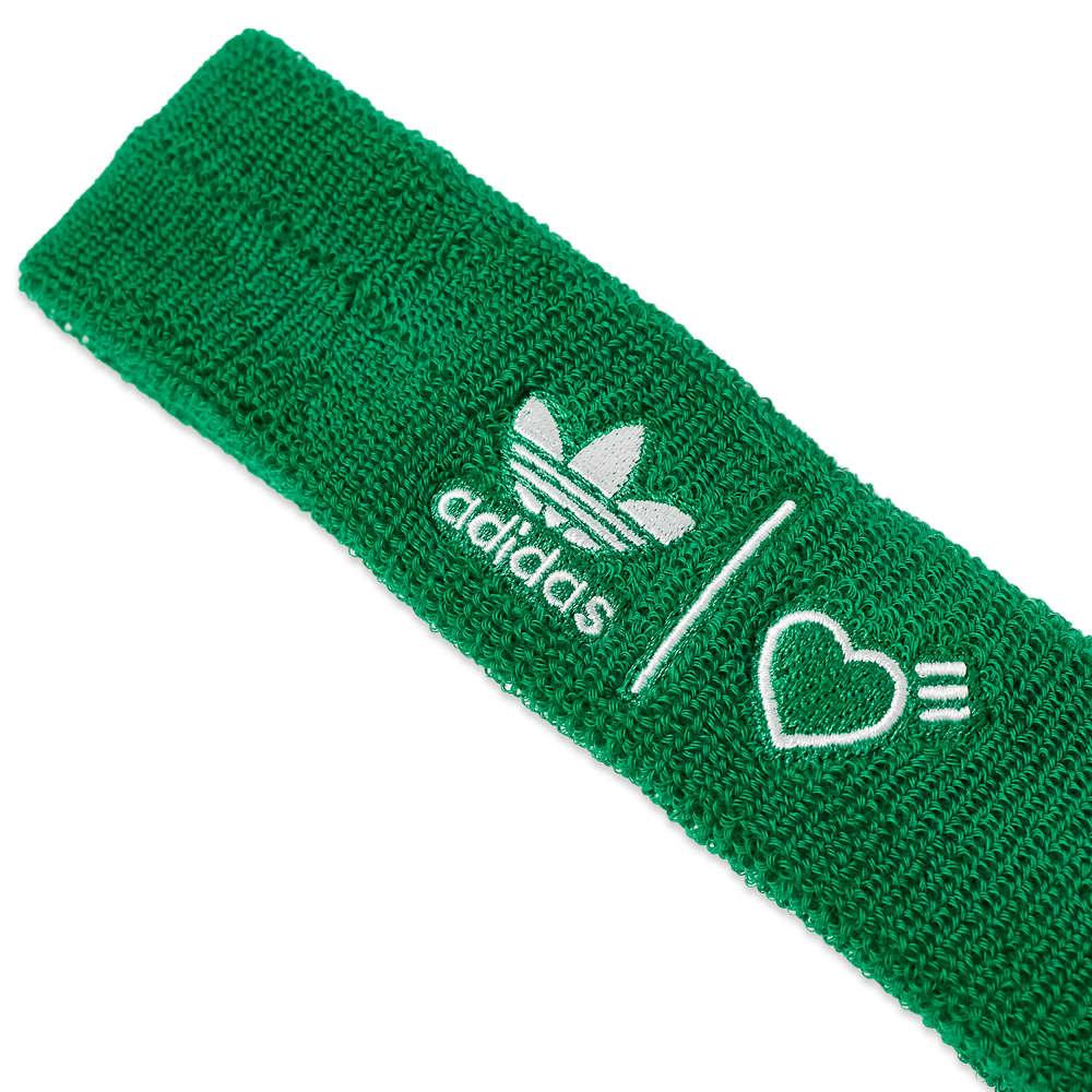 Adidas x Human Made Wristbands & Headband - Green & White