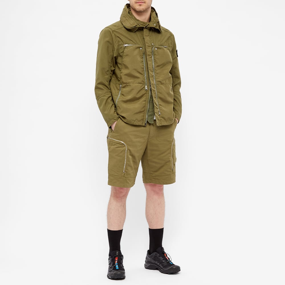 Stone Island Shadow Project Vented Field Jacket - Olive