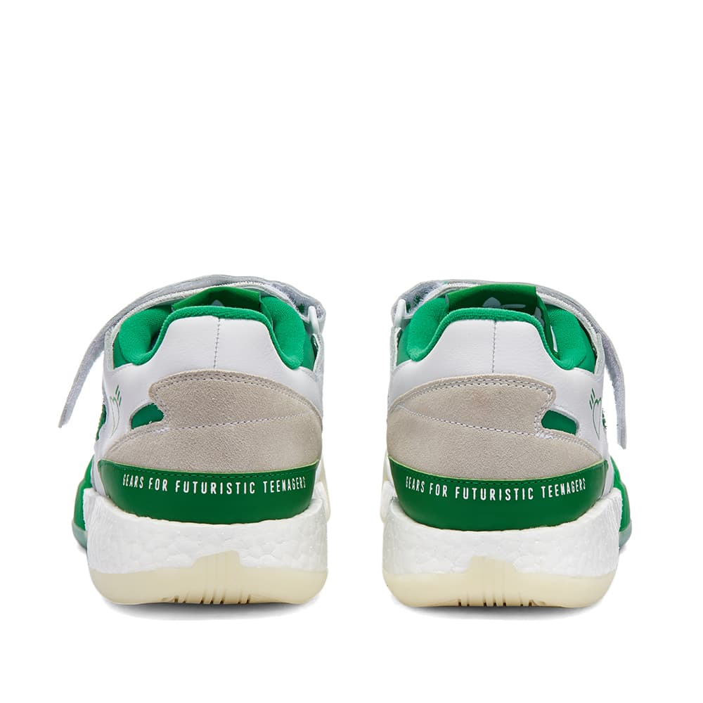 Adidas x Human Made Forum Low - White, Green & Off White