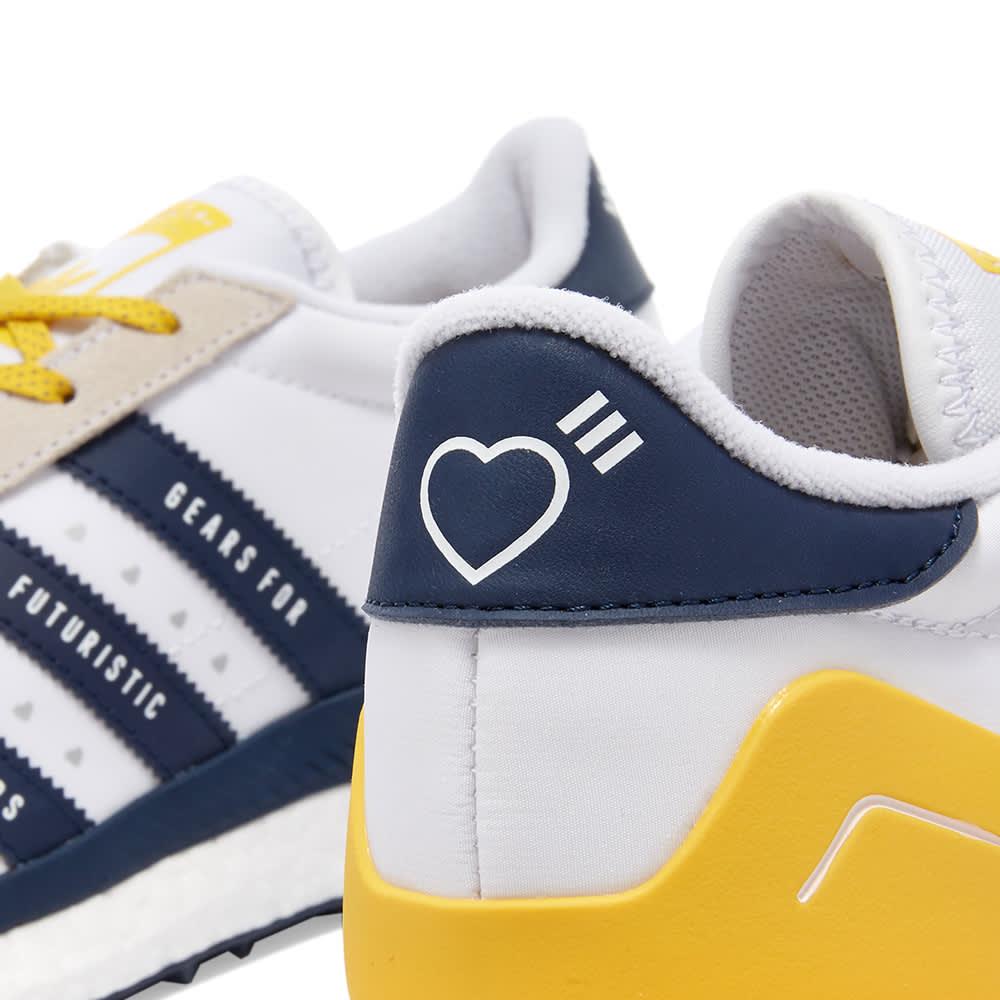 Adidas x Human Made Country Free Hiker - White, Yellow & Navy