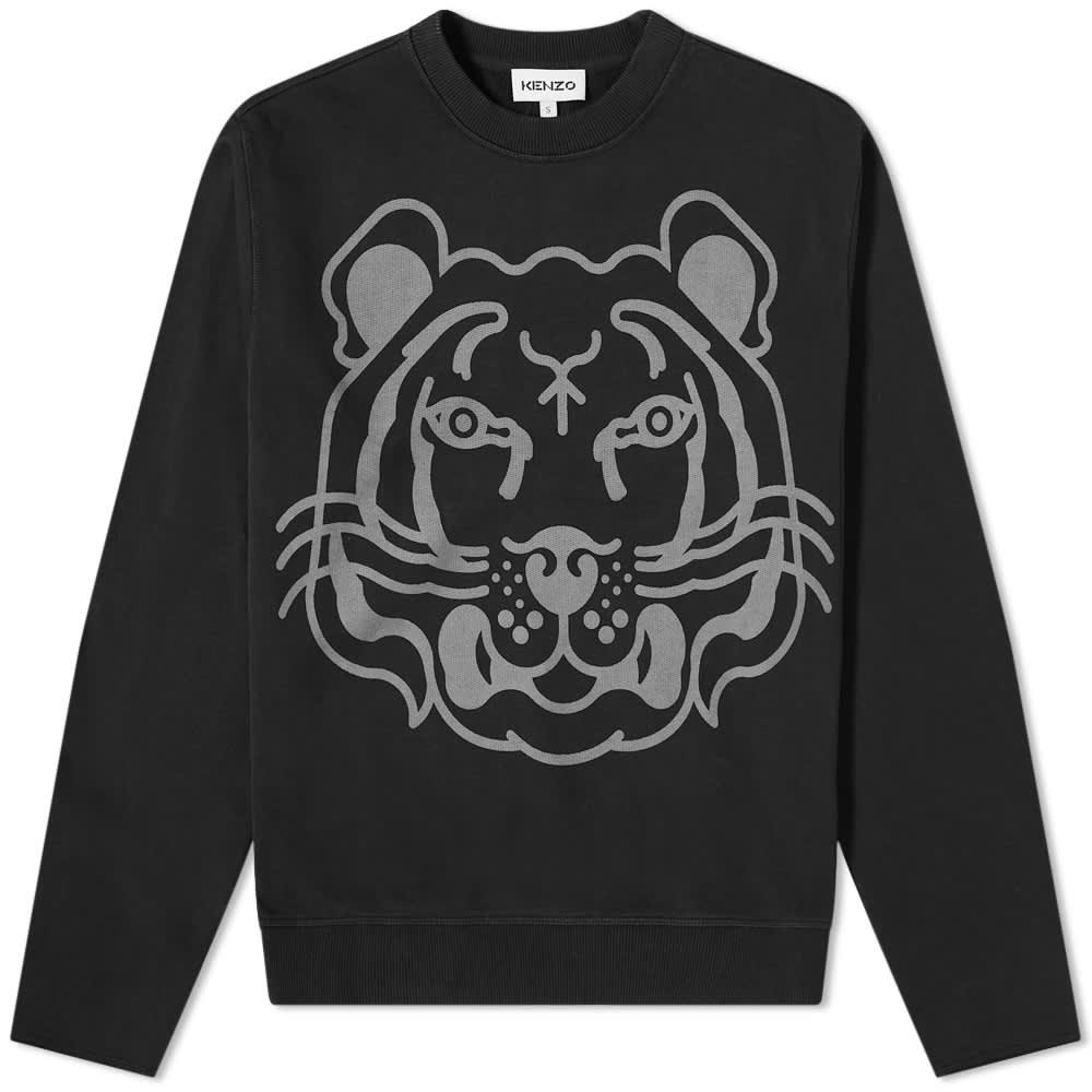 Kenzo K-Tiger Classic Sweat - Black