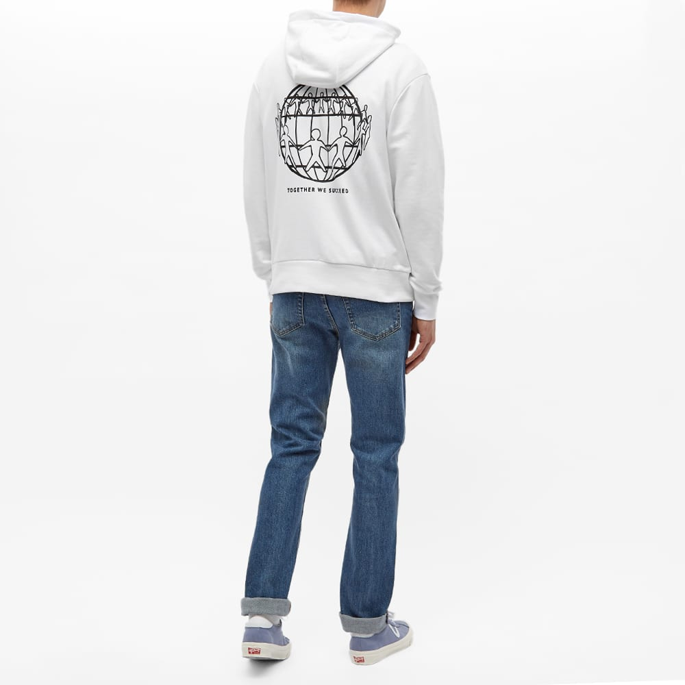Tommy Jeans Earth Day Hoody - Optic White