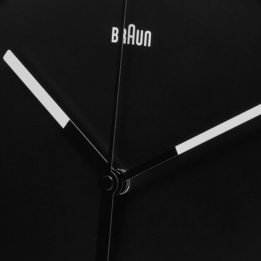 Braun Large Wall Clock - Black
