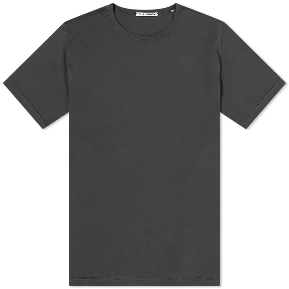 Our Legacy New Box Tee - Asphalt Grey Clean Jersey
