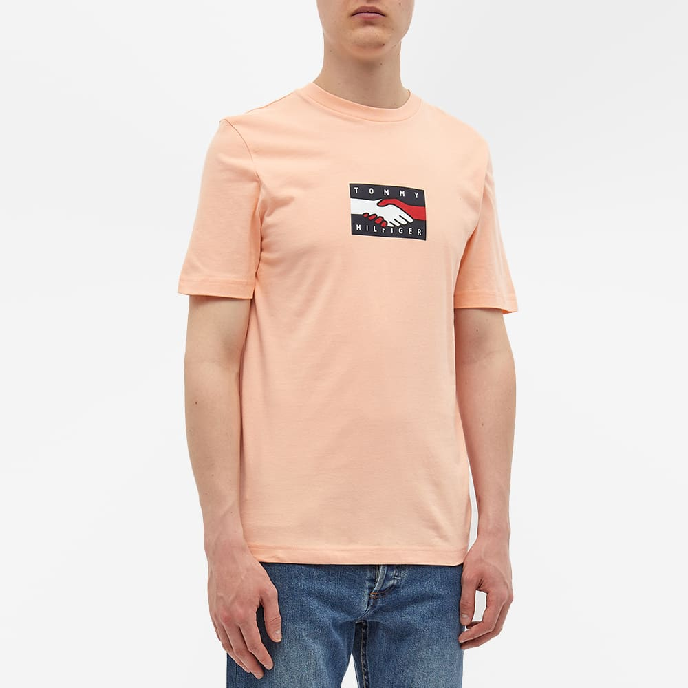 Tommy Jeans Earth Day Back Print Tee - Delicate Peach