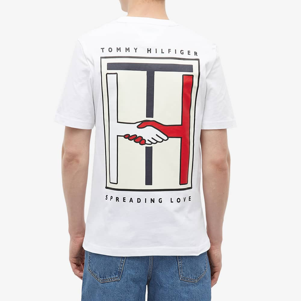 Tommy Jeans Earth Day Back Print Tee - Optic White