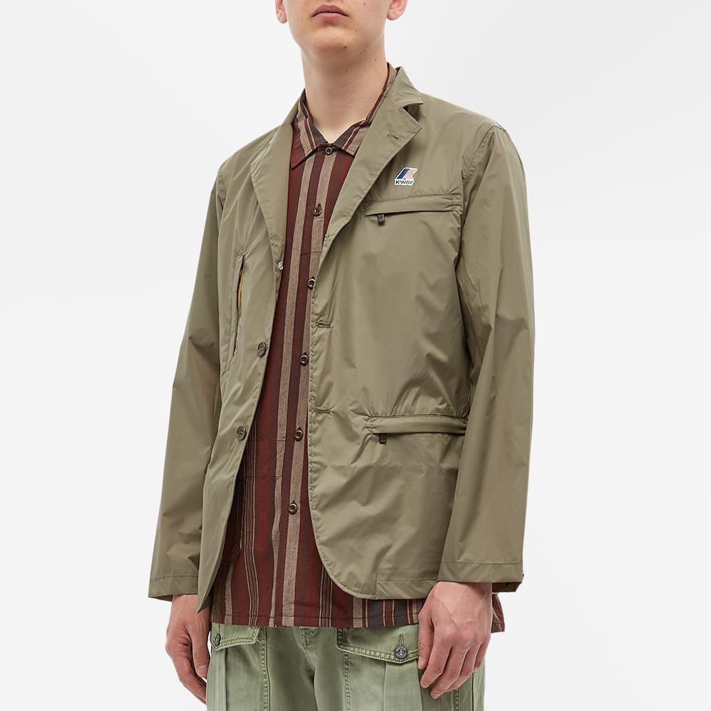 K-Way x Engineered Garments Utility Blazer - Green