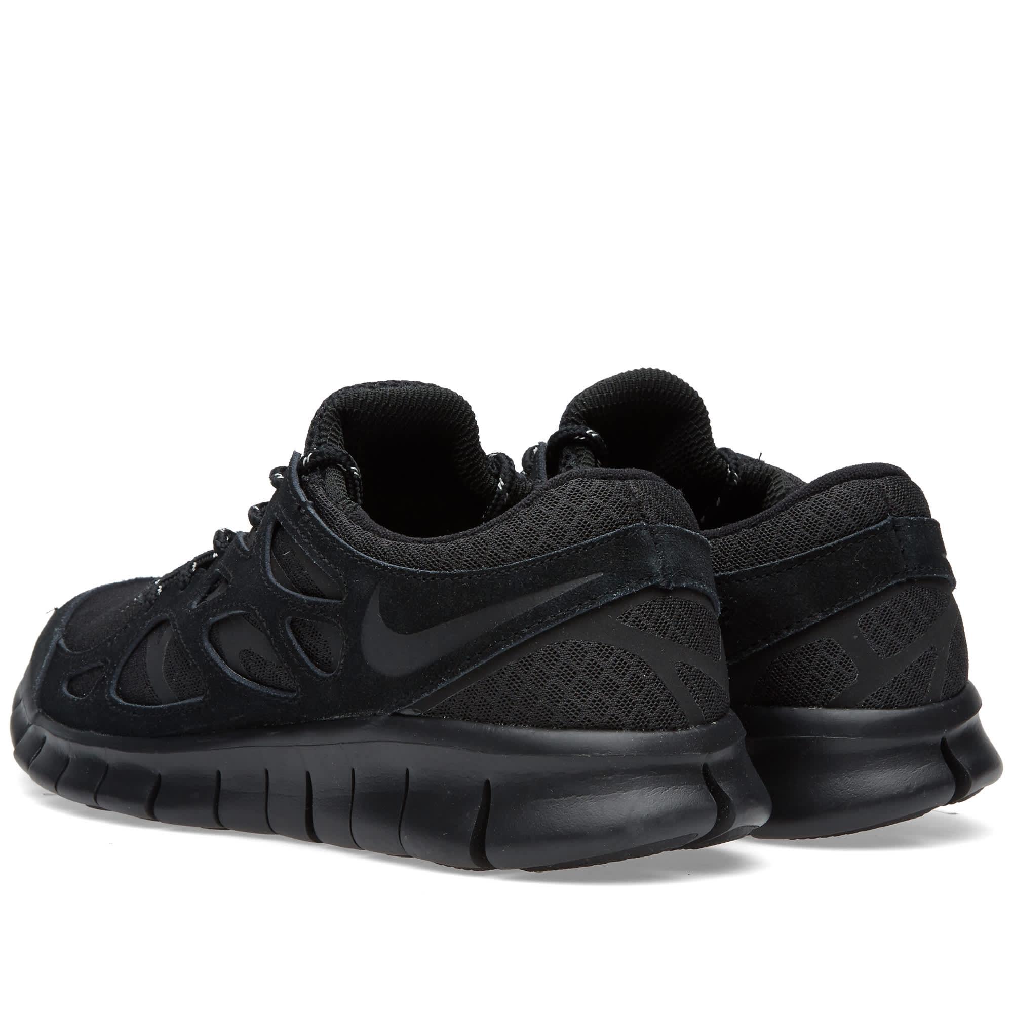 Nike Free Run 2 Black \u0026 Dark Grey   END.
