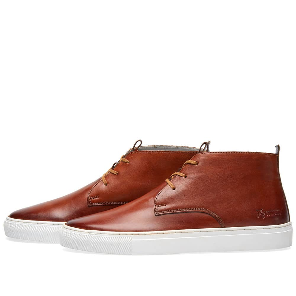 Grenson Sneaker 2 Tan Hand Painted   END.