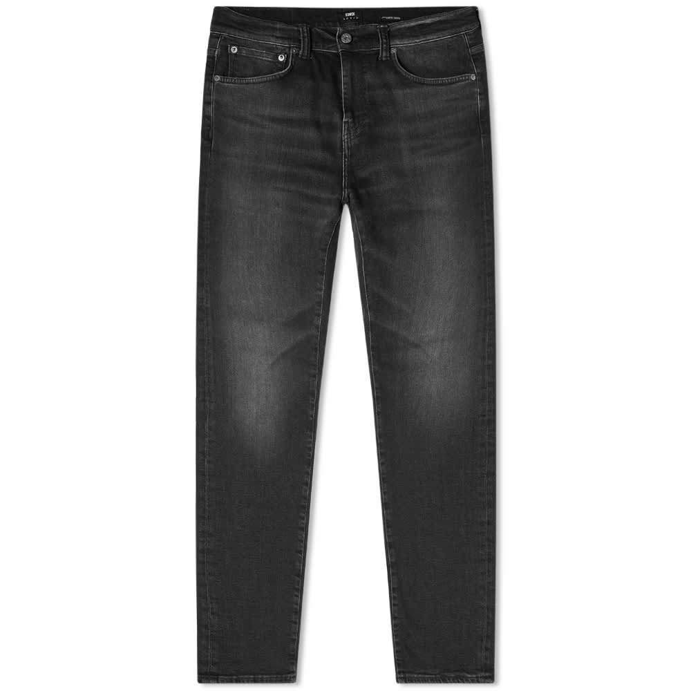 Edwin ED-80 Slim Tapered Jean - Rinsed 11.8oz Koharu Wash