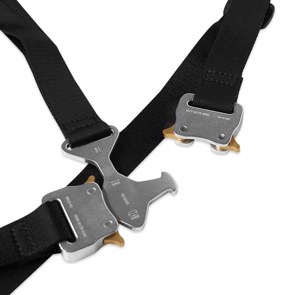 1017 ALYX 9SM Tri Buckle Chest Harness - Black