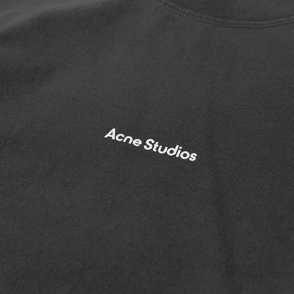 Acne Studios Erwin Long Sleeve Stamp Tee - Black