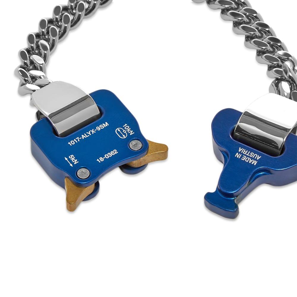 1017 ALYX 9SM Classic Chainlink Bracelet - Silver & Blue