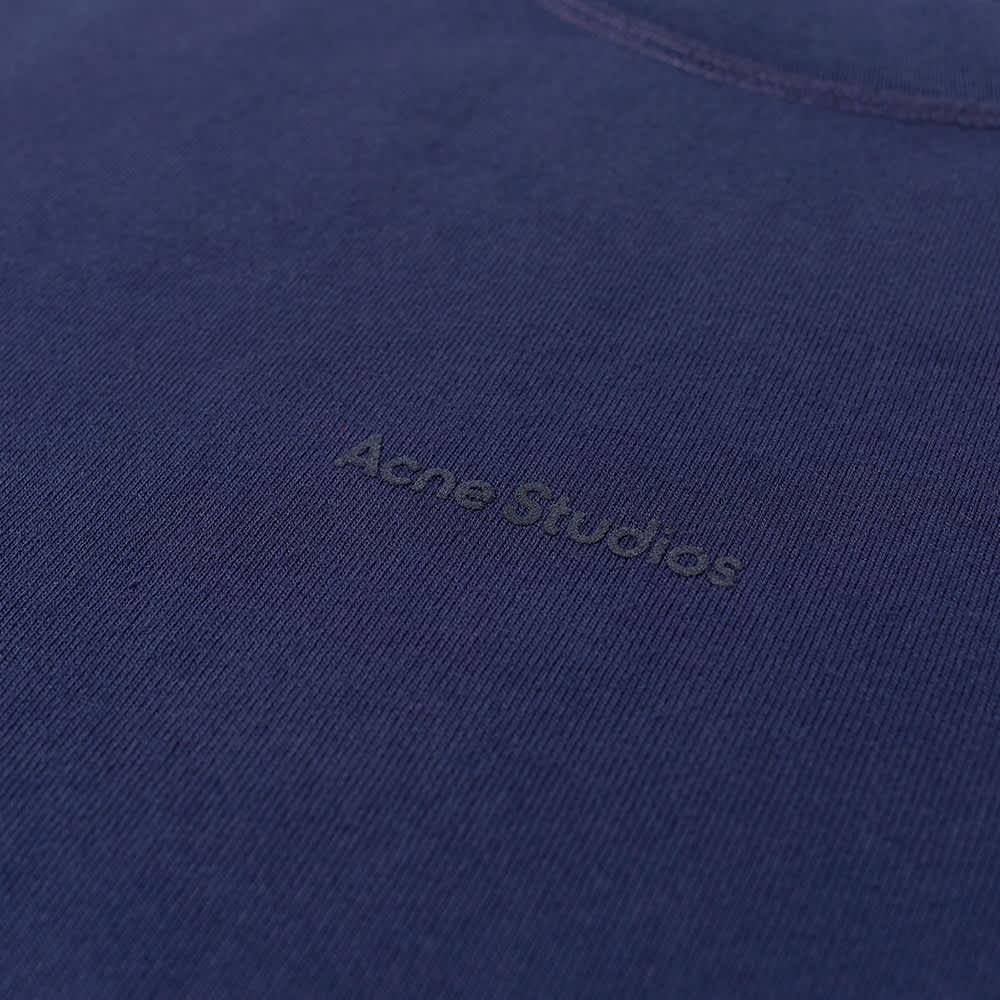 Acne Studios Extorr Stamp Logo Tee - Indigo Blue