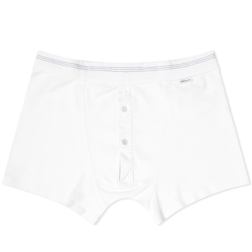 Schiesser Karl-Heinz Boxer Short - White