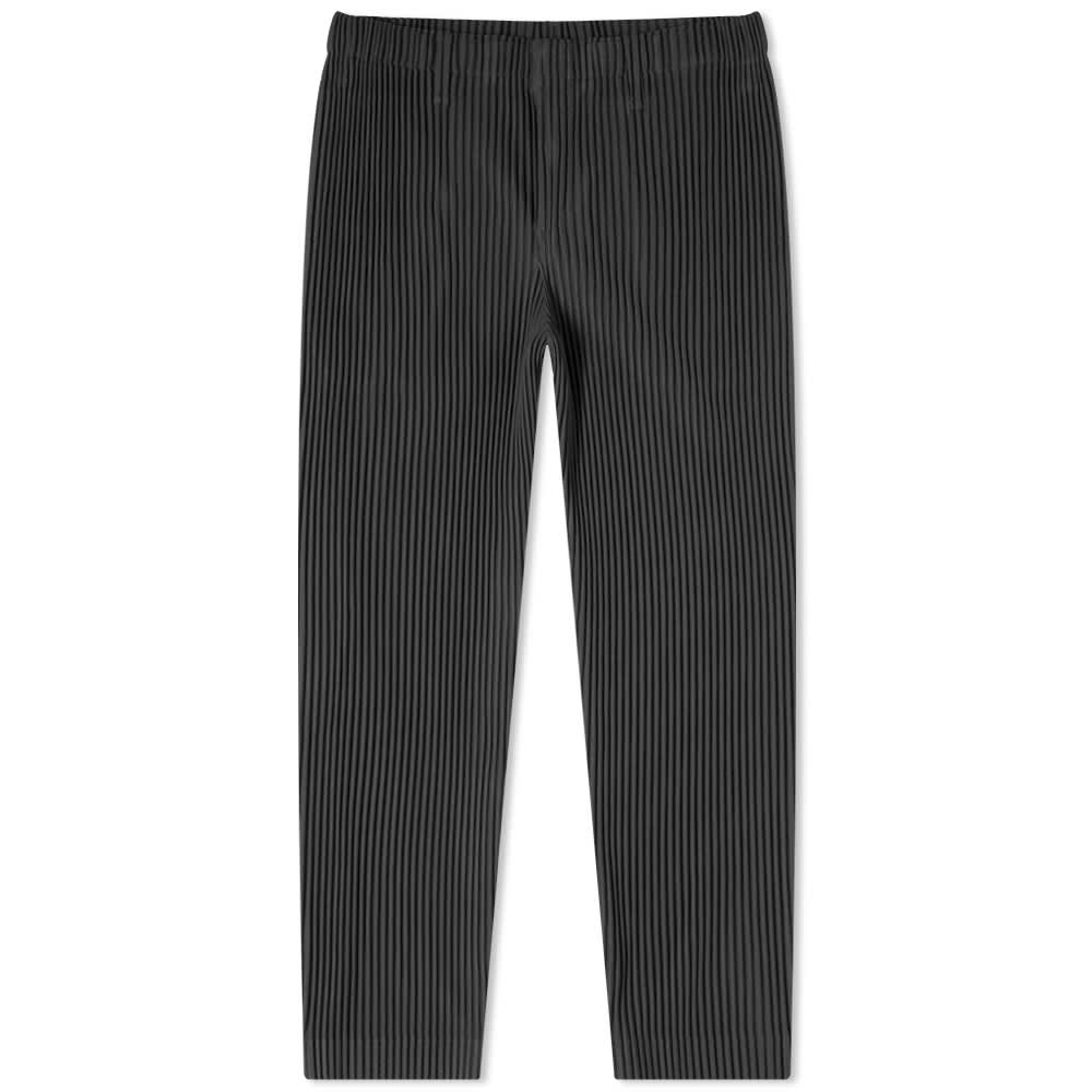 Homme Plissé Issey Miyake JF155 Tailored Pants - Charcoal Grey