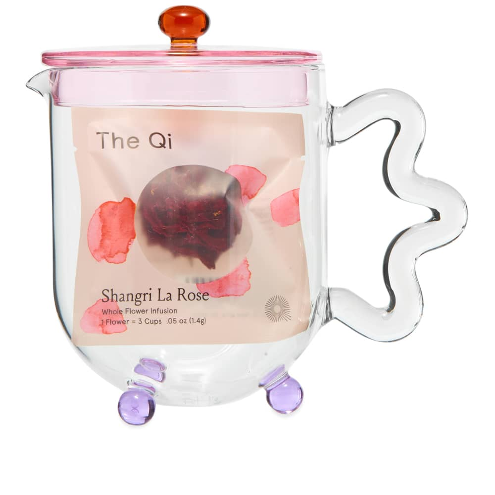 Sophie Lou Jacobsen Teapot - Pink & Clear