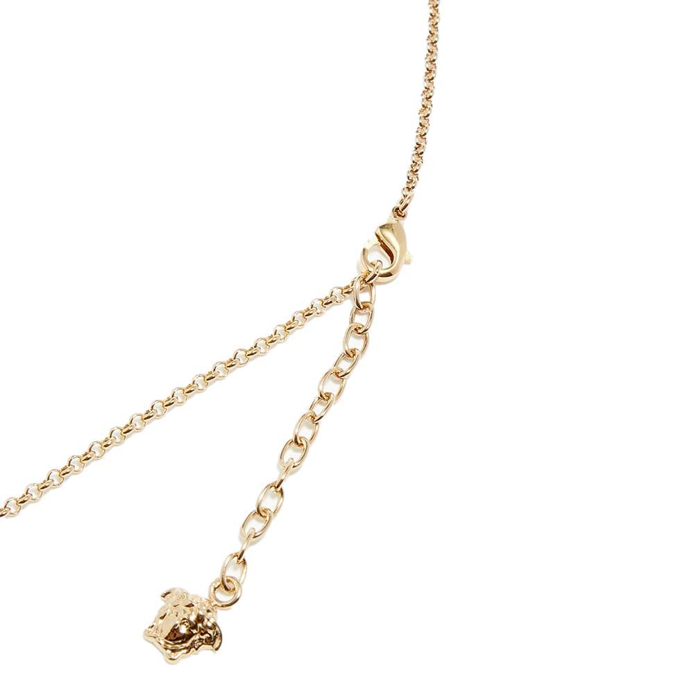 Versace Medusa Medallion Necklace - Gold