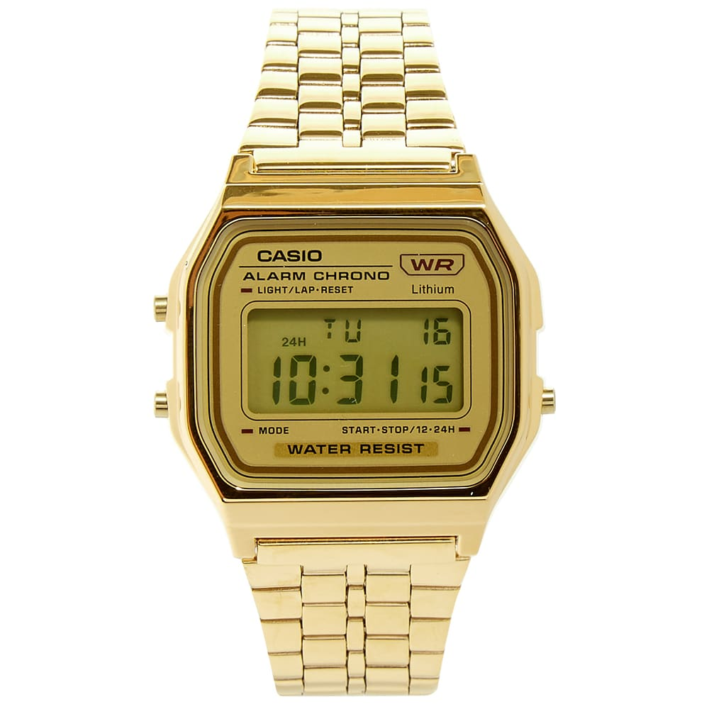 Casio Classic Digital Watch - Gold