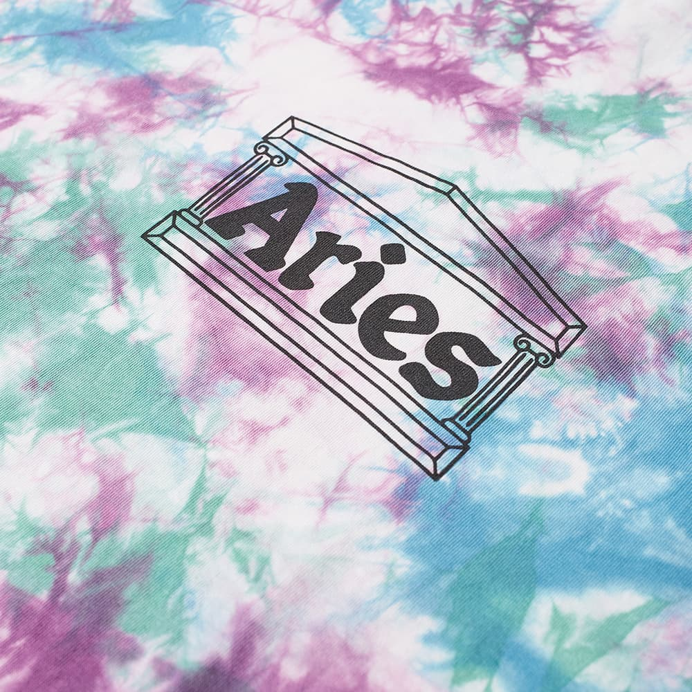 Aries Tie-Dye Temple Tee - Multi