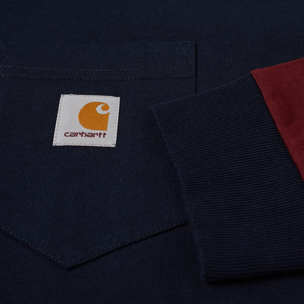 Carhartt WIP Long Sleeve Triple Pocket Tee - Astro, Frasier & Jam