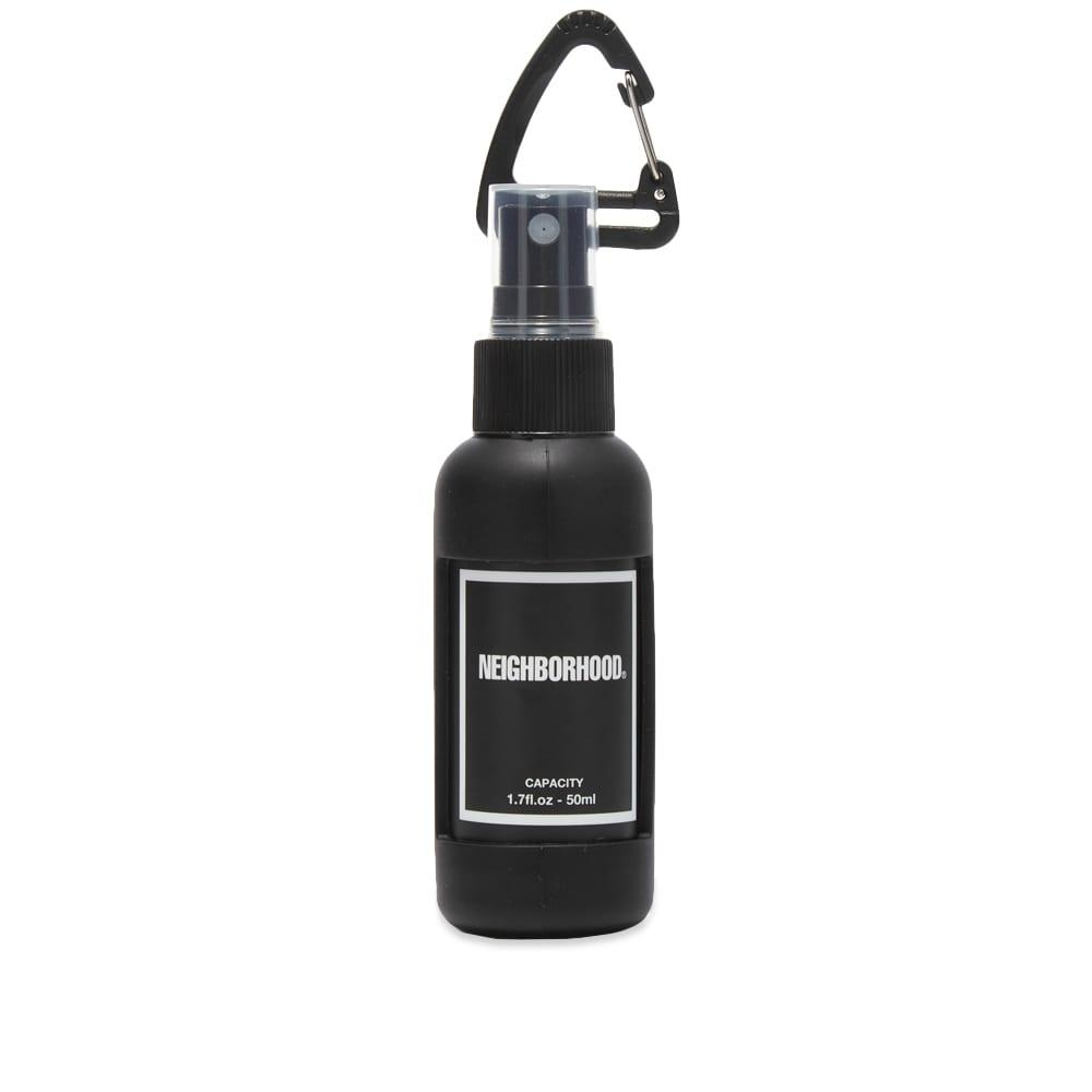 Neighborhood Spray Bottle Keyring - Black