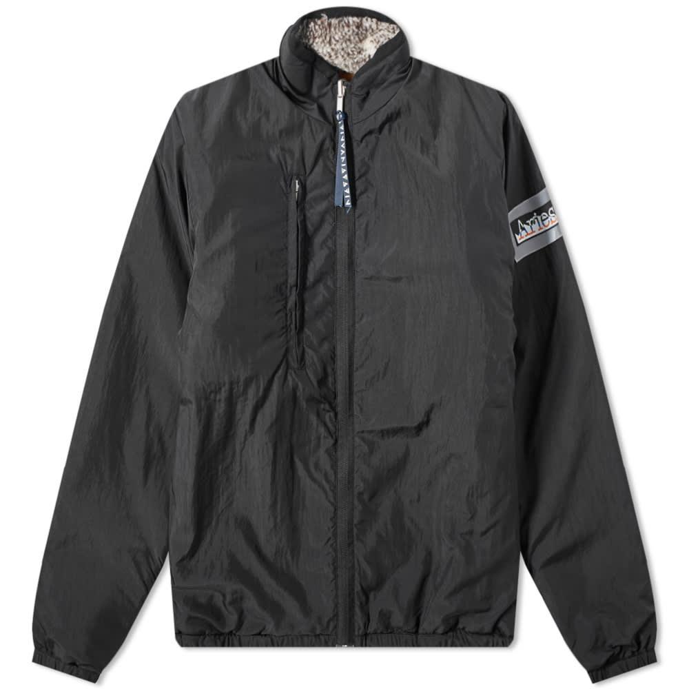 Aries Reversible Patchwork Fleece Jacket - Multi