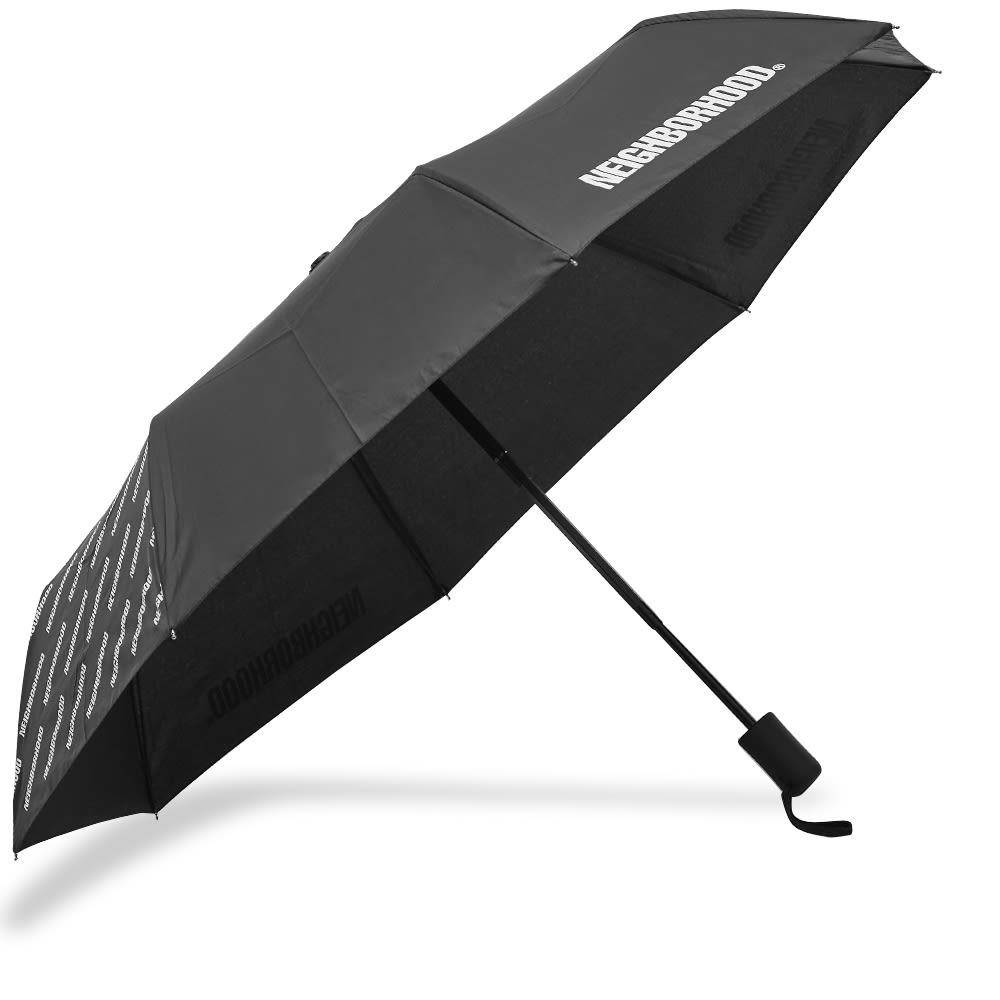 Neighborhood Logo Umbrella - Black