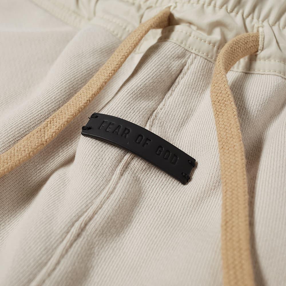Fear of God The Vintage Sweat Short - Vintage Concrete White