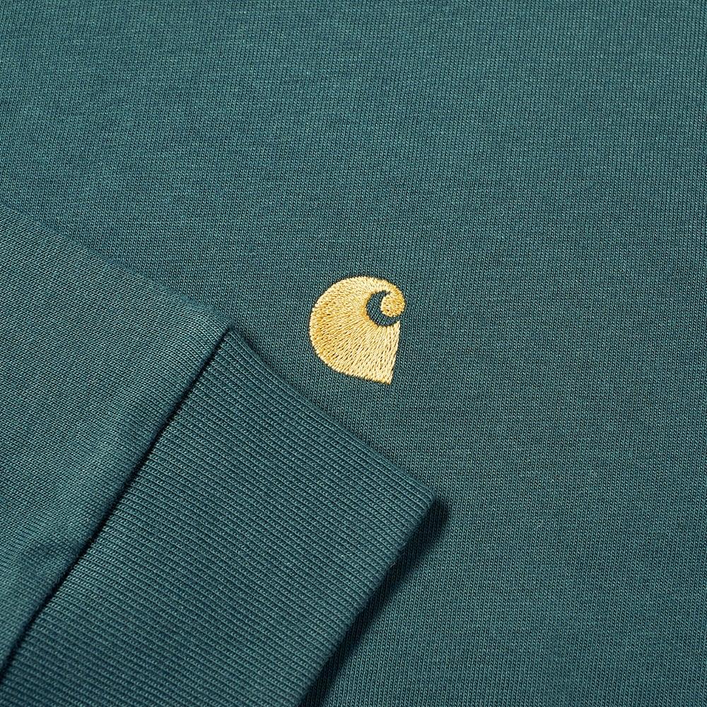 Carhartt WIP Long Sleeve Chase Tee - Frasier & Gold